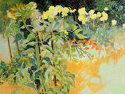 A12WILSHIRE CUP(RU) - 'Late August Garden' by Juliet Jones