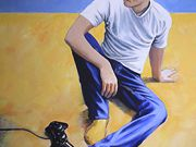 A14Betty Day RU, Gillian Hamilton, Boy with yellow socks