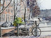 a15GEORGE CALEY AWARD (runner-up) 'Amsterdamin Winter by Elizabeth Jones