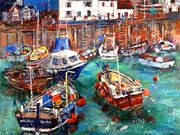 S12OONA LOWSBY (W) 'Bobbing Boats at Westbay' by Pat Brown