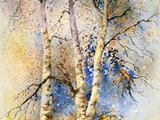 S14COMMENDED 'Winter Birches' by Doreen Dutton
