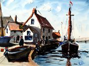 S17COMMENDED 'Quayside Suffolk' by Alan Pedder