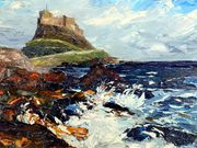 s18PETER COARMAN TROPHY (runner-up) 'Lindesfarne Castle' by Clare Qing Hirsch